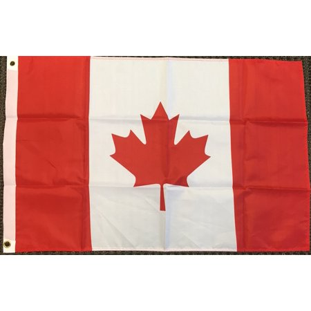 2x3 Canada Flag Canadian Banner Country Pennant Indoor Outdoor 24x36 inches - Checkered Flag Pennant Banner