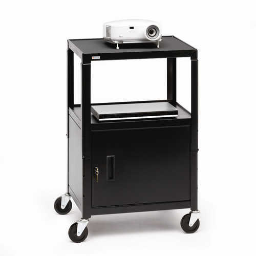 Bretford Manufacturing Inc UL Listed Adjustable AV Cart