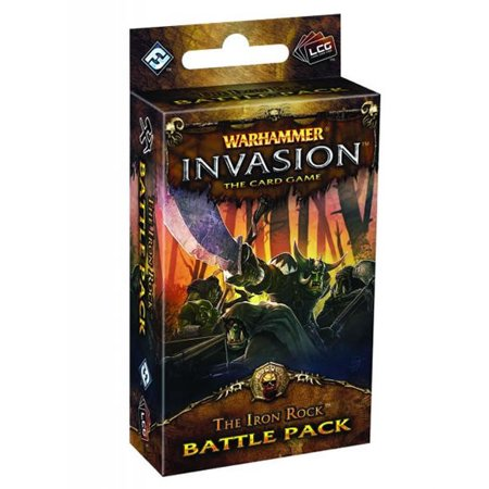 The Iron Rock Battle Pack Warhammer Invasion Fantasy Flight Games