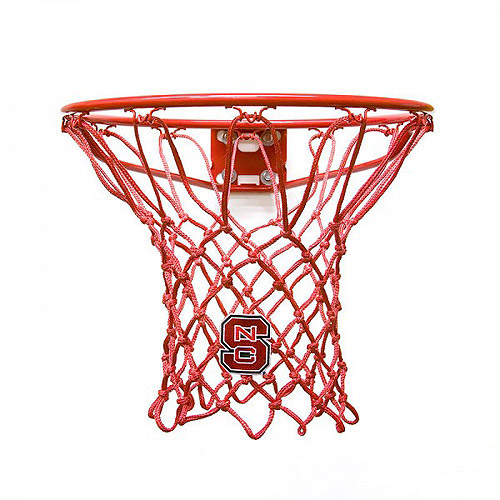 Krazy Netz KNL7305 North Carolina State University Wolfpack Basketball Net, Red