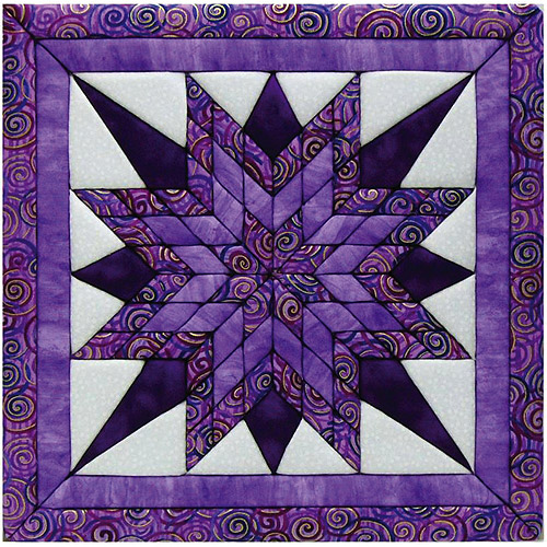 Starburst Quilt Magic Kit