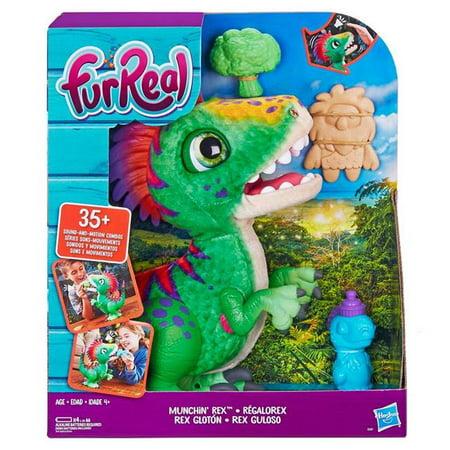 Hasbro HSBE0387 FurReal Munchin Rex, Pack of 2](Hasbro Parrot)