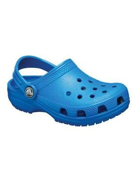Crocs Classic Clog Ice Blue Flat Shoe - 13M