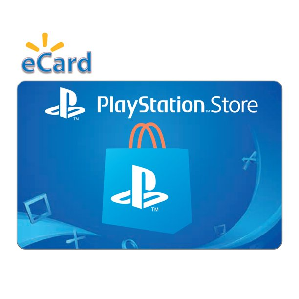 Playstation Store 100 Gift Card Sony Playstation 4 Digital Download Walmart Com Walmart Com