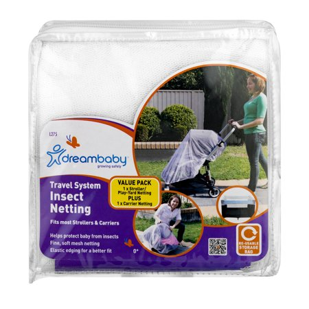 Dreambaby® Travel System Insect Netting, 2 piece