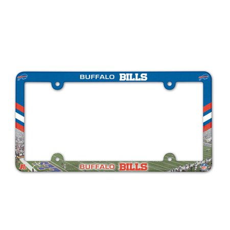 - Buffalo Bills Official NFL 12 inch x 6 inch Plastic License Plate Frame by Wincraft