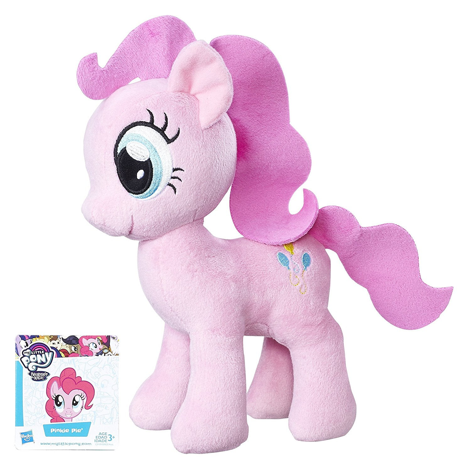 Friendship is Magic Pinkie Pie Soft Plush, Soft and huggable body By My Little Pony by