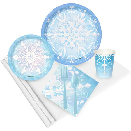 Winter Wonderland Theme For Sweet 16 (Snowflake Winter Wonderland Party Pack for)
