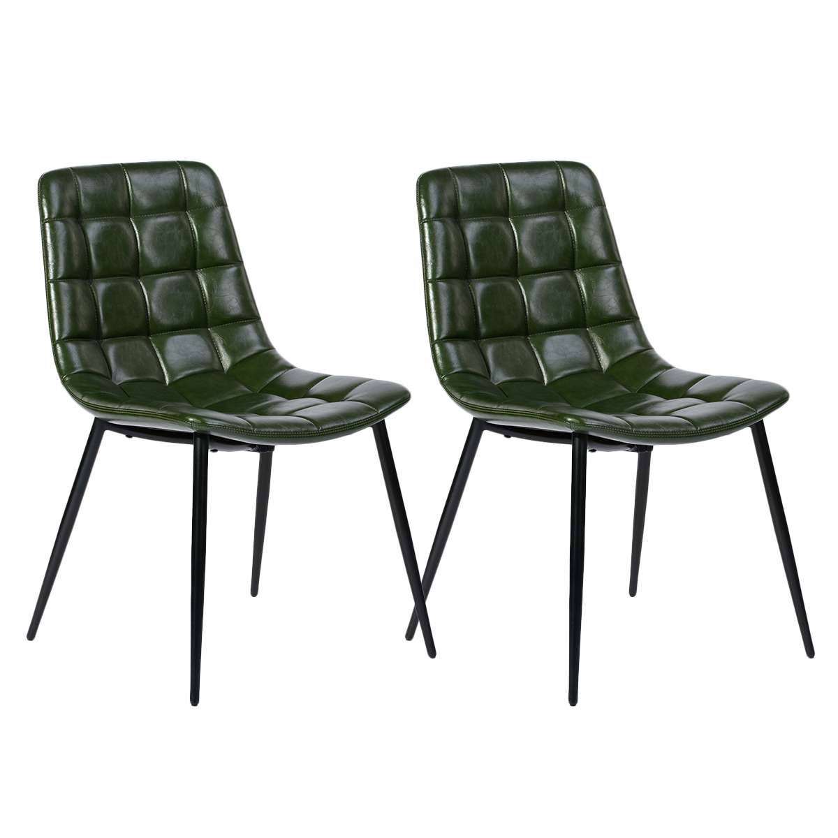 Furniture R Set of 10 Dining Chairs Ergonomic Soft Padded Backrest