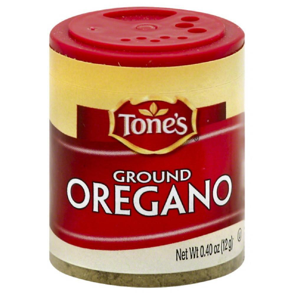 Tones Ground Oregano, 0.4 Oz (Pack of 6)