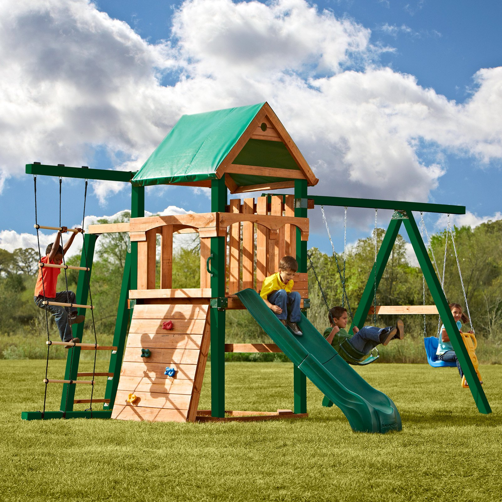 Swing-N-Slide PB 8321 Grand Trekker Play Set