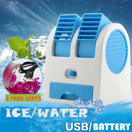Tuscom Portable Mini USB Air Conditioner Cooler Fan Rechargeable For Outdoor