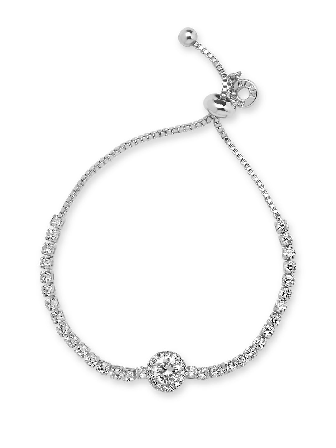 Cubic Zirconia and Crystal Bracelet