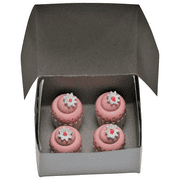 "Bakery Collection 4 Pc Mini Cupcakes for 18"" Doll Furniture & Play Food Accessories"