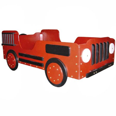 Fire Truck Toddler Bed (Pace Edwards Truck Bed)