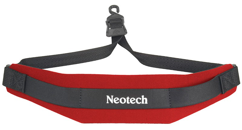 Neotech 1902002 Soft Sax Strap, Red, Open Hook by