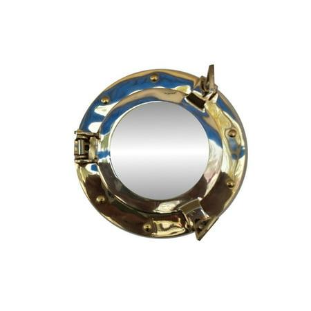 Ship Porthole (Brass Porthole Mirror 9