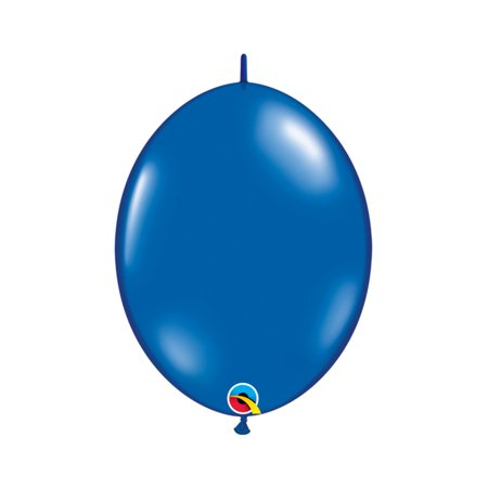 Qualatex Qualatex Sapphire Blue Quick Link Latex Balloons, 6 inch (50pc Set) Party Supplies and - 6 Foot Water Balloon
