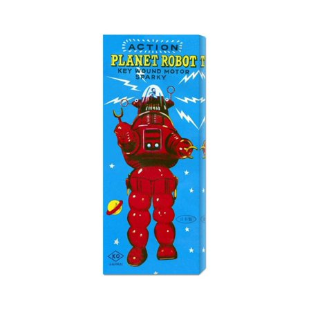 """Action Planet Robot"" by retrobot"