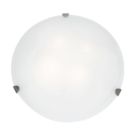 Steel 12 Light - Pendants 1 Light With Brushed Steel Finish and Steel Material 12 inch 100 Watts