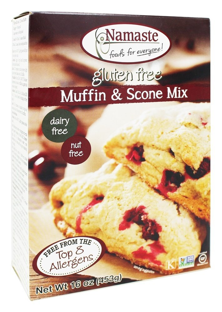 Namaste Foods Gluten Free Muffin & Scone Mix 16 oz(pack of 1) by