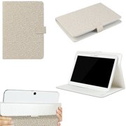 "JAVOedge White Ivy Pattern Universal Book Case for 9-10"" Tablets, iPad Air, Samsung Note, Nook HD 9, Nexus 10 + More"