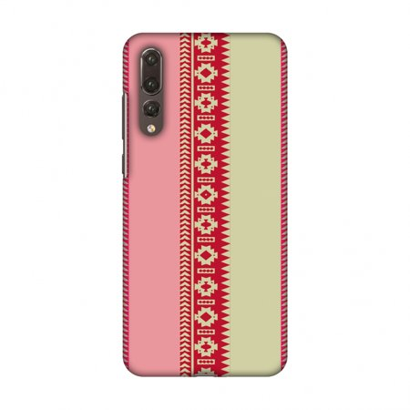 Huawei P20 Pro Case - Tribal patterns and solids- Beige and flamingo pink, Hard Plastic Back Cover, Slim Profile Cute Printed Designer Snap on Case with Screen Cleaning Kit](Plastic Flamingos Wholesale)