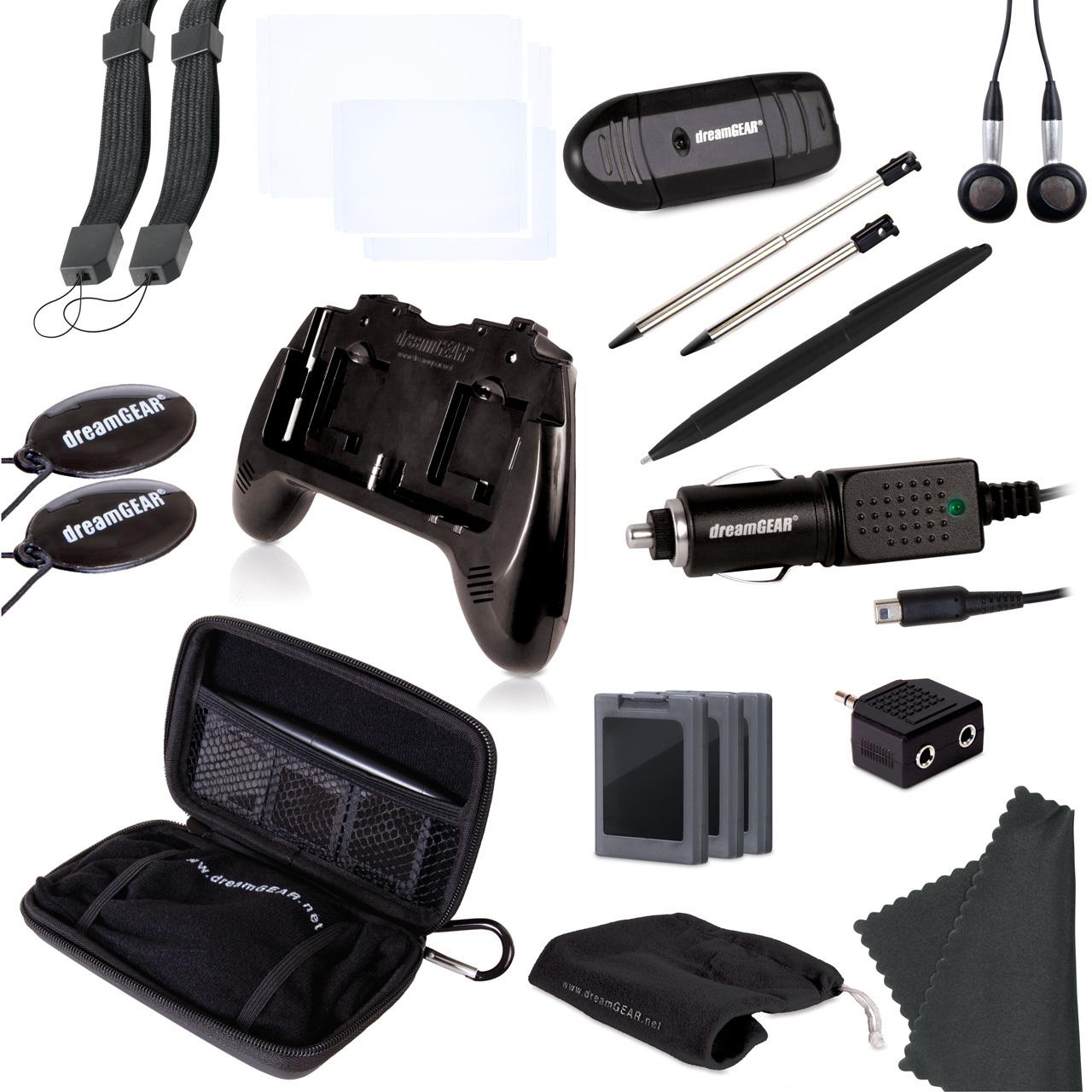 3DS 20 in 1 Essentials Kit-Blk