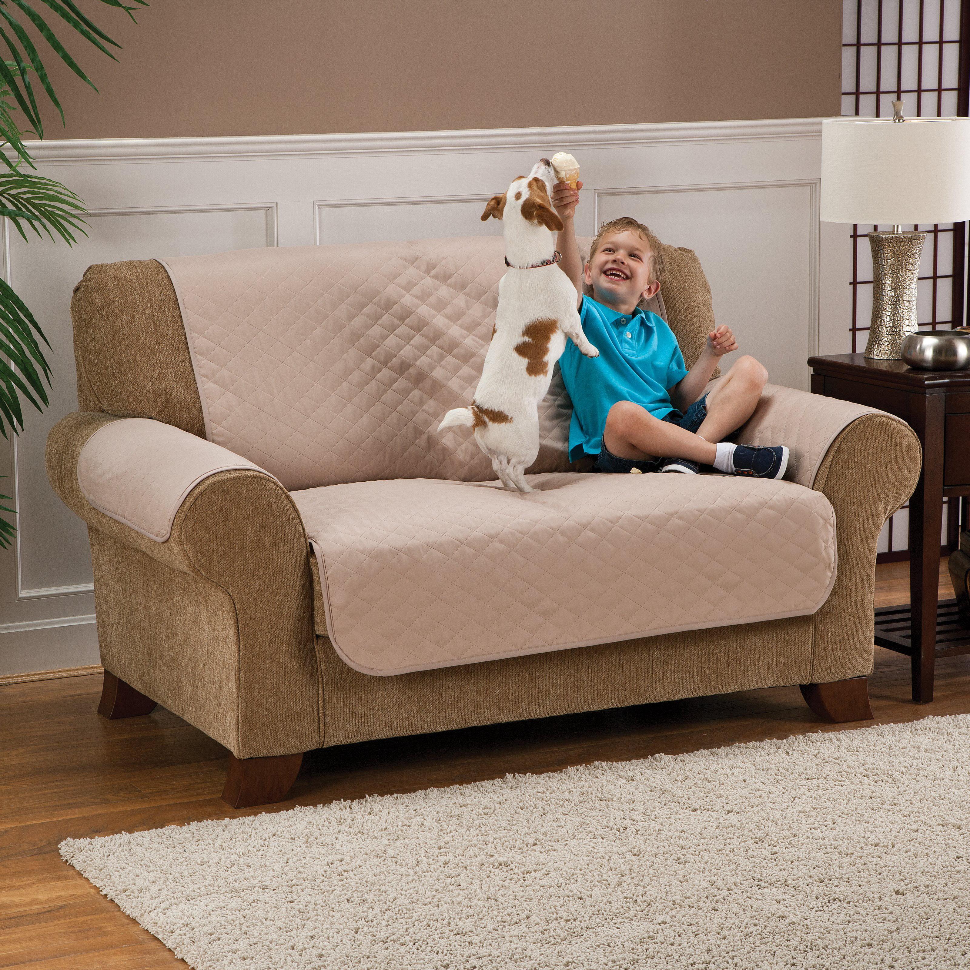 Madison Loveseat Pet Protector