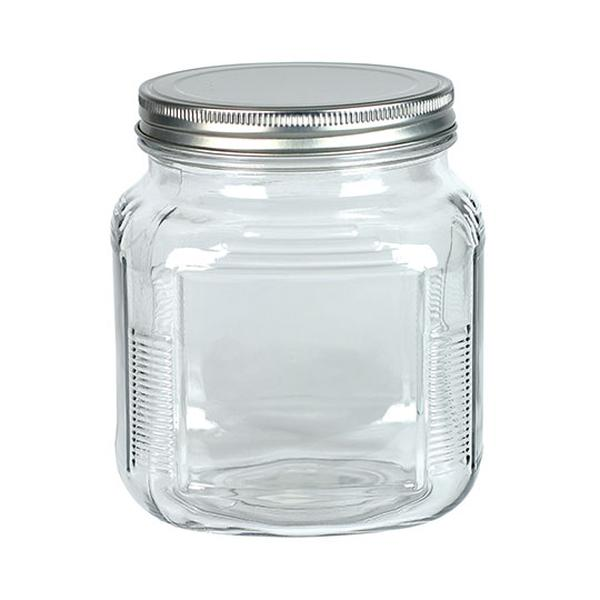 Accessories - Glass Jar with Metal Lid 32 oz 8489
