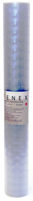 tenex carpet protector lowpile clear ribbed pattern 27in