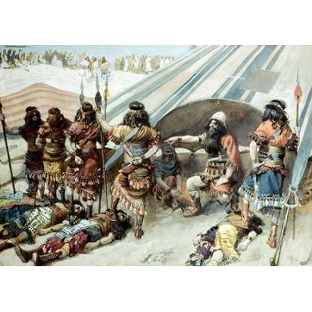 Joshua and The Five Kings Poster Print by James Tissot