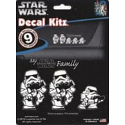 Star Wars Storm Trooper Family Decal Set