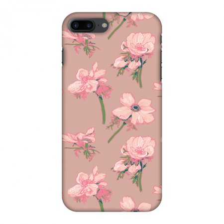 iPhone 7 Plus Case, Premium Handcrafted Designer Hard Shell Snap On Case Shockproof Printed Back Cover with Screen Cleaning Kit for iPhone 7 Plus -Floral Beauty , Slim,