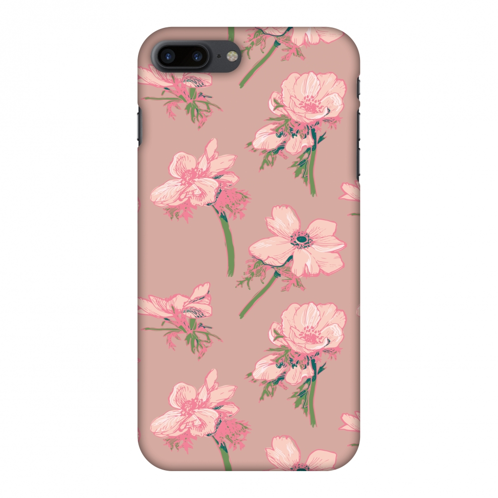 iPhone 7 Plus Case, Premium Handcrafted Designer Hard Shell Snap On Case Shockproof Printed Back Cover with Screen Cleaning Kit for iPhone 7 Plus -Floral Beauty , Slim, Protective