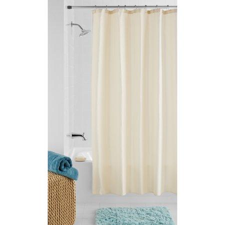 Mainstays Gold Waffle Metallic Shower Curtain 1 Each