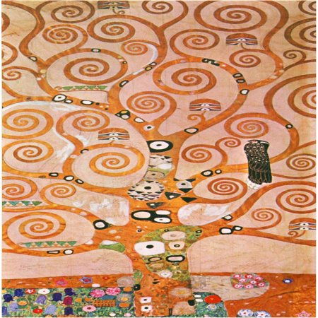 Works of Klimt Canvas Wall Art, Tree of Life