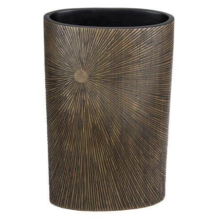 Sagebrook Home Decorative Resin Burst Pattern Table Vase