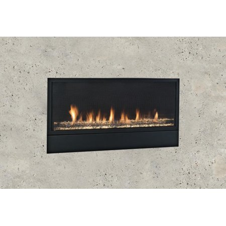 """42"""" Artisan Vent Free Linear Fireplace, Signature Command Control LP Gas"""