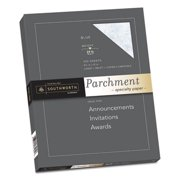 Parchment Specialty Paper, Blue, 24lb, 8 1/2 x 11, 100 Sheets, Sold as 1 Package, 100 Sheet per Package