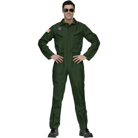 Top Gun Aviator Adult Halloween Costume - Gsn Halloween