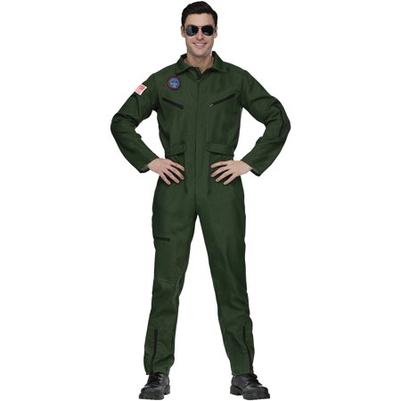 Top Gun Aviator Adult Halloween Costume](Costume Stores Dallas Tx)