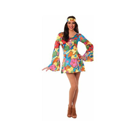 HIPPIE-GROOVY GO-GO DRESS-XS/S