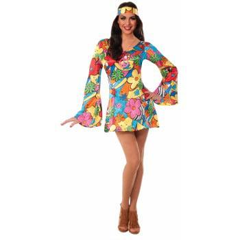 HIPPIE-GROOVY GO-GO - Hippy Dress