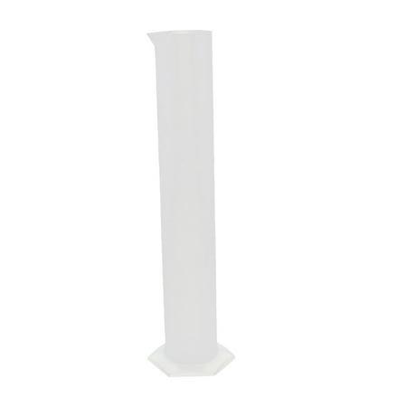 1000mL Lab Hex Base Liquid Measurement Plastic Graduated Measuring Cylinder