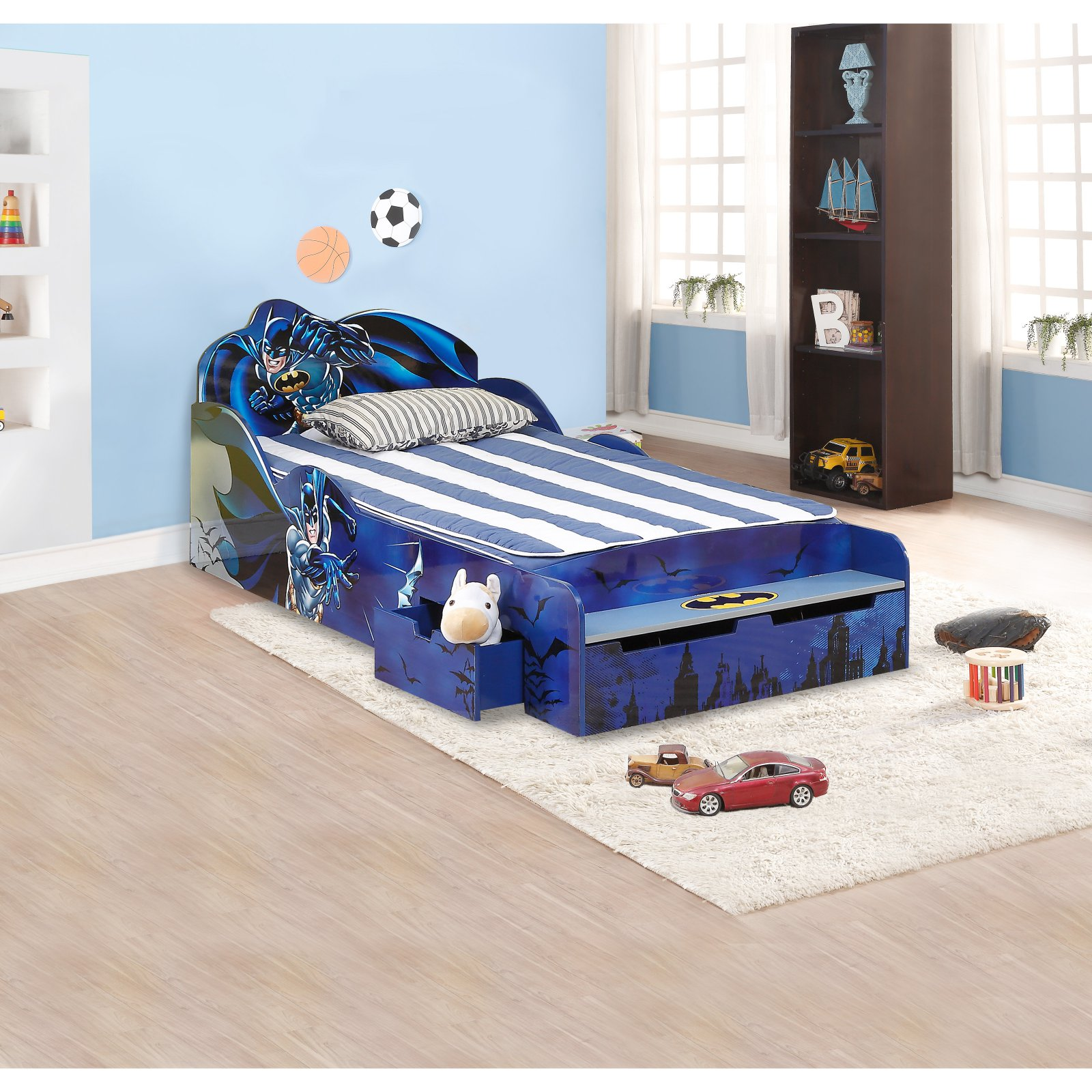 okids batman childrens twin bed