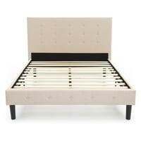 Classic Brands Cambridge Upholstered Platform Bed