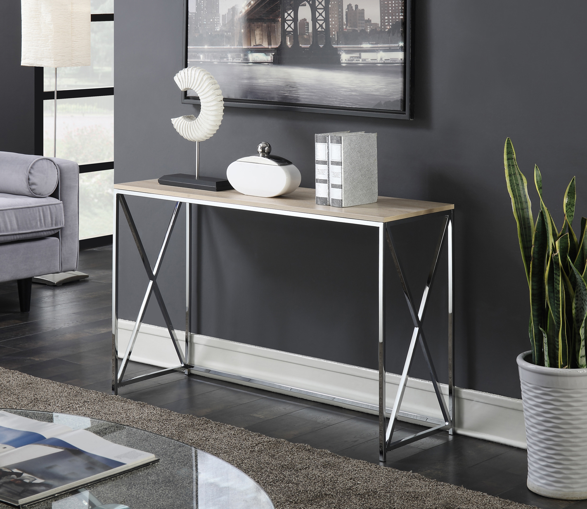 Convenience Concepts Belaire Console Table by Convenience Concepts Inc