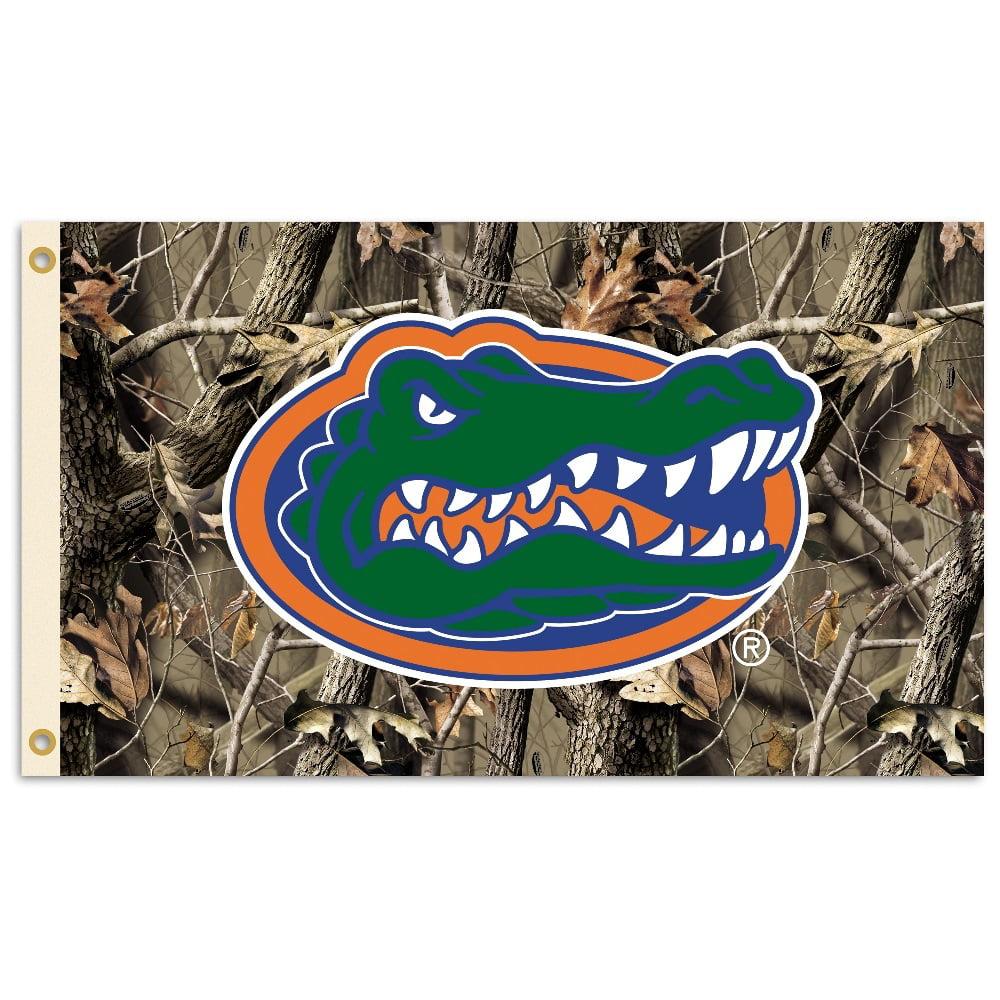 University of Florida Gators Camo Flag
