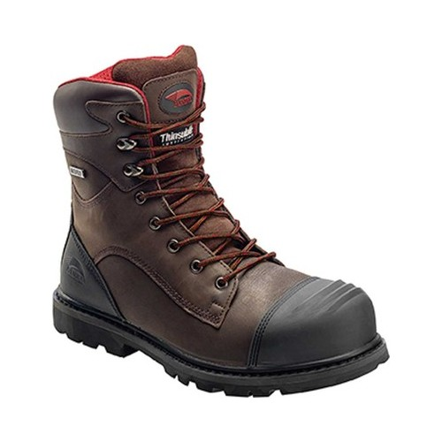 """Men's Avenger A7575 8"""" Insulated WP Carbon Toe PR EH Work Boot"""